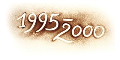 Jahreszahlen 1995 bis 2000 im Lebenslauf