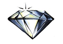 Symbol für das Diamant Show Package