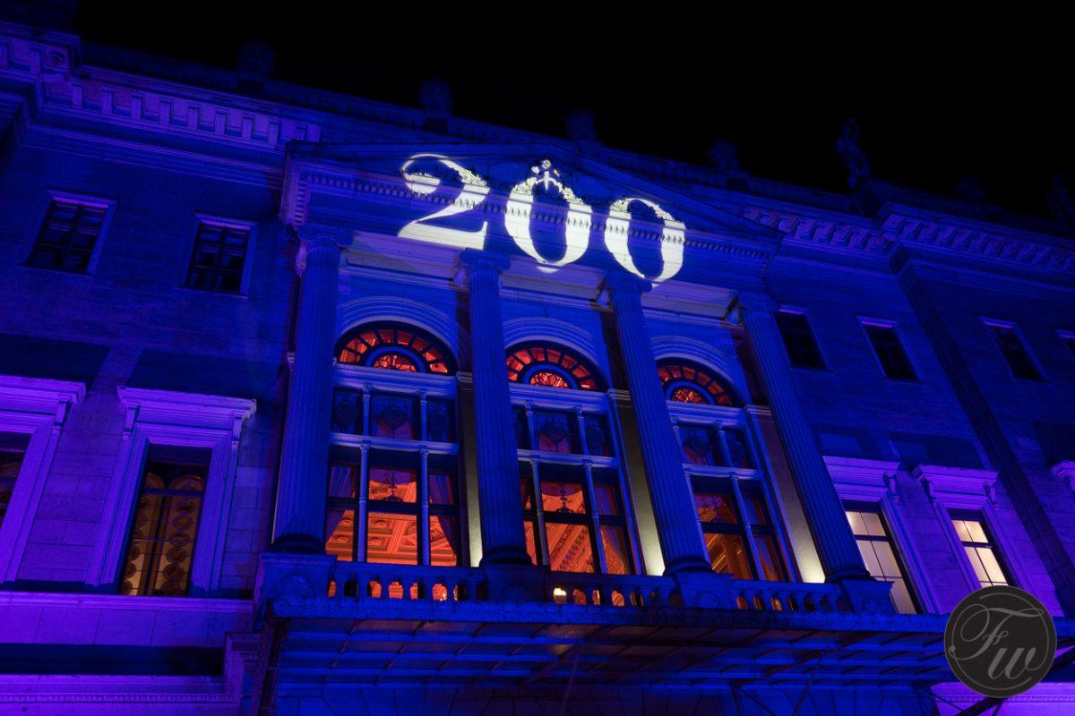 Gebäude Projektion 200
