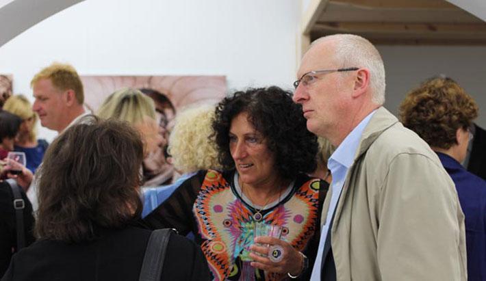 Ausstellung in der Kurzparkzone München