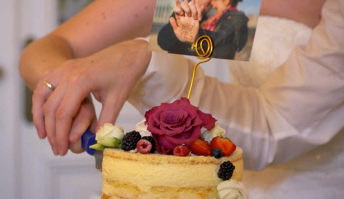 Mini Hochzeits Kuchen