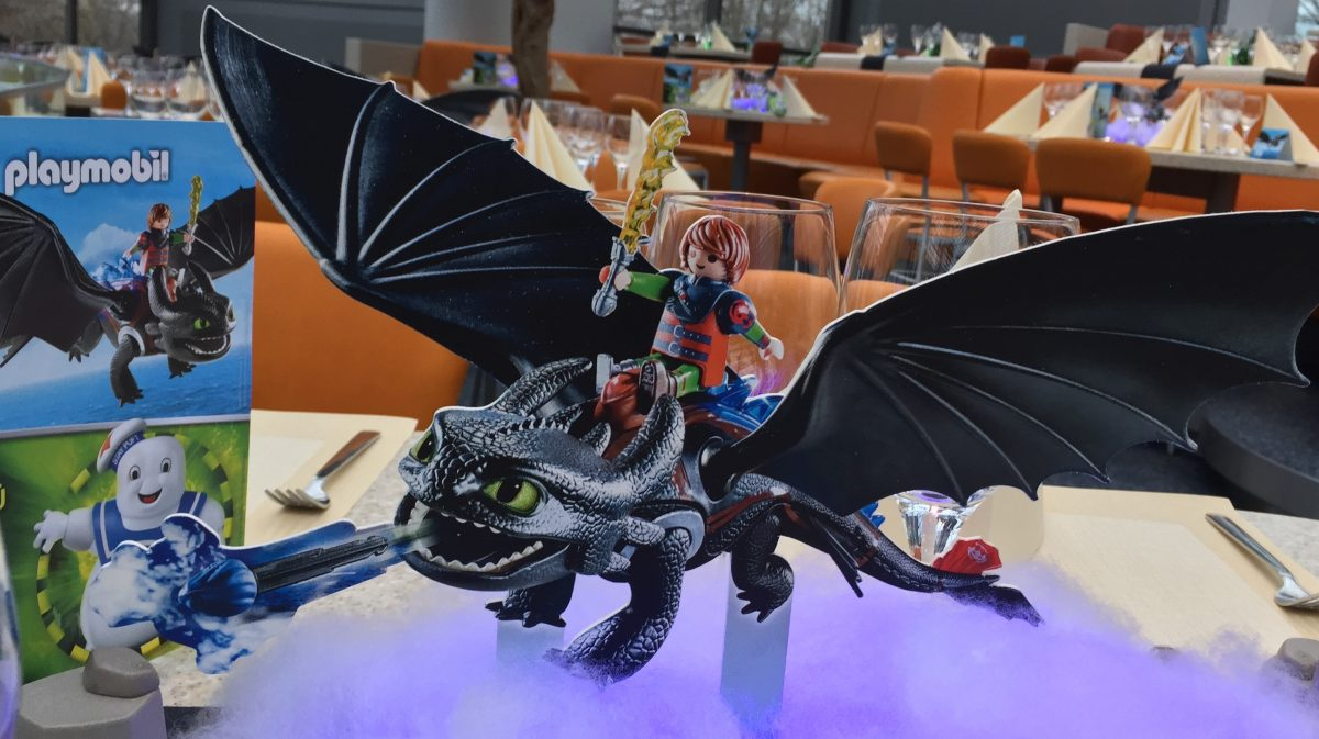 Playmobil Set des Drachen Ohnezahn