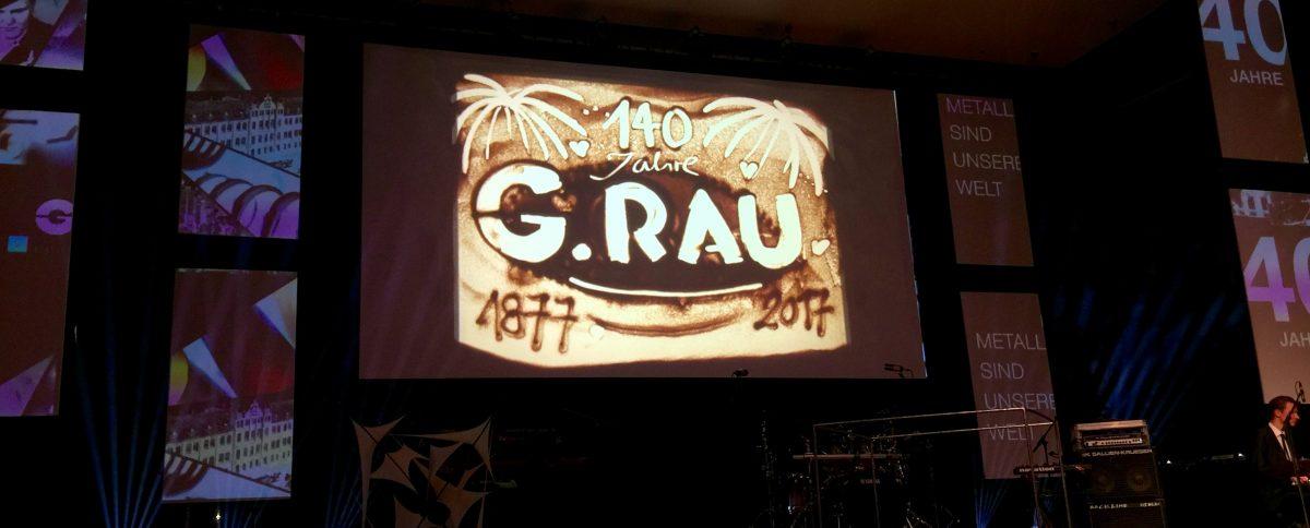 Neues G.RAU Logo