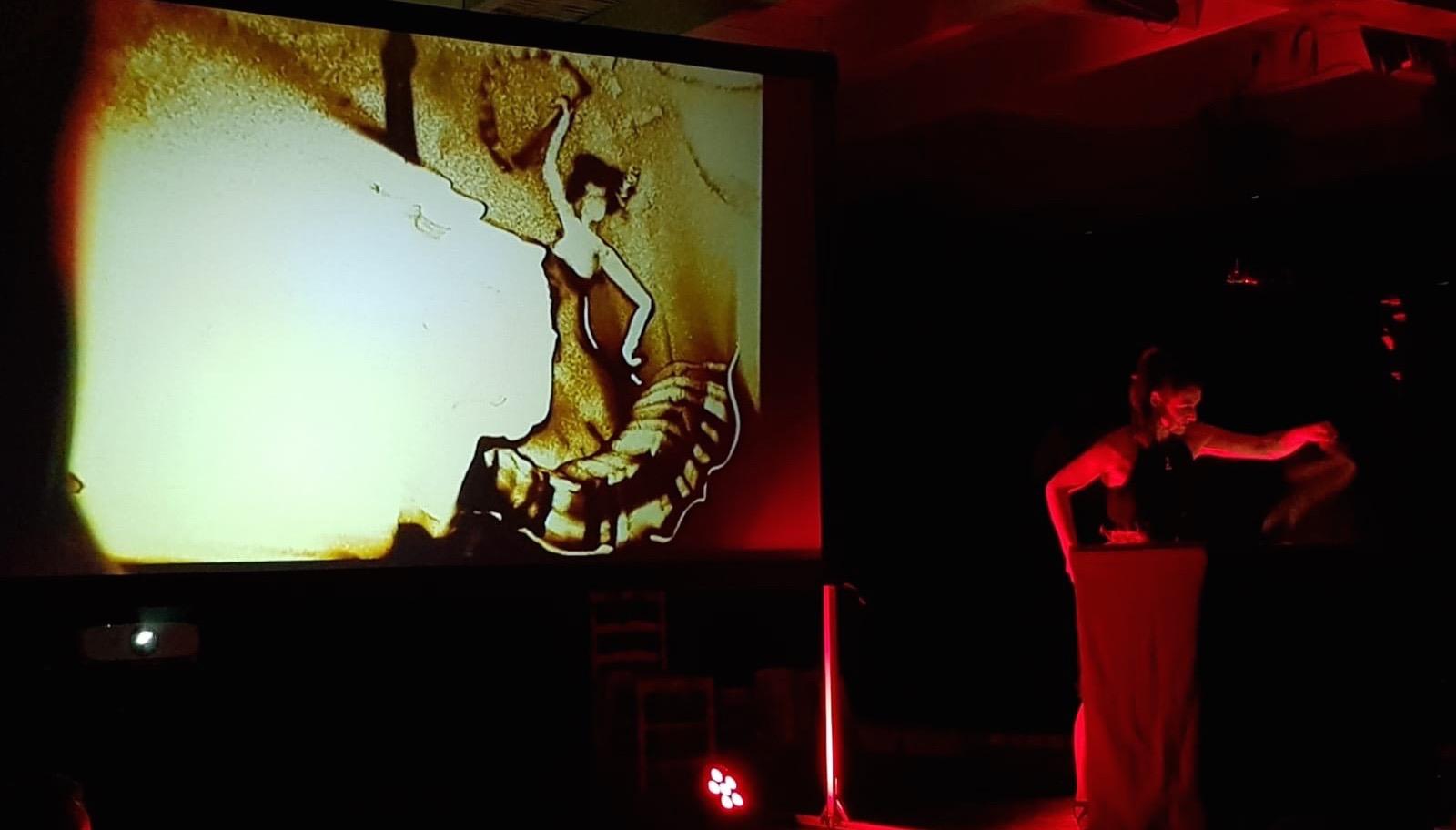 Show in Madrid von Frauke